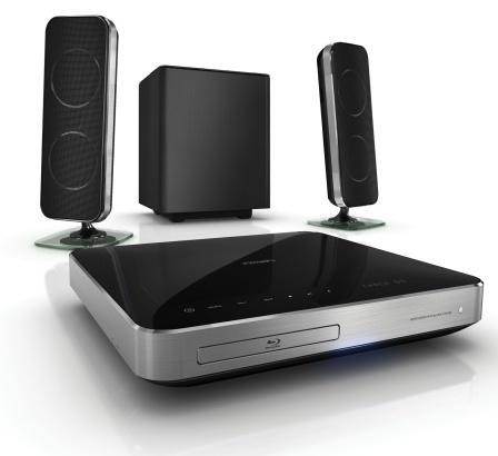 Sistemas de cine en casa de Philips con Blu-Ray