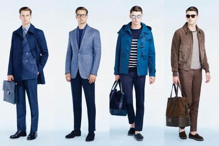 Gieves & Hawkes se inclina a la elegancia funcional para su colección Spring 2015
