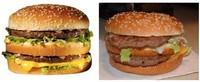 Fotos de comida chatarra publicidad vs realidad