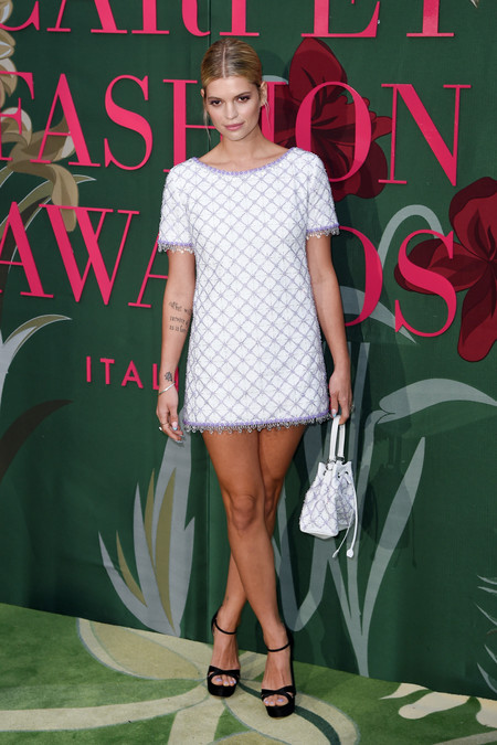 Pixie Geldof green carpet fashion awards 2019