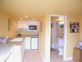 Una gran cocina en pocos metros for Cocinas lineales de cuatro metros