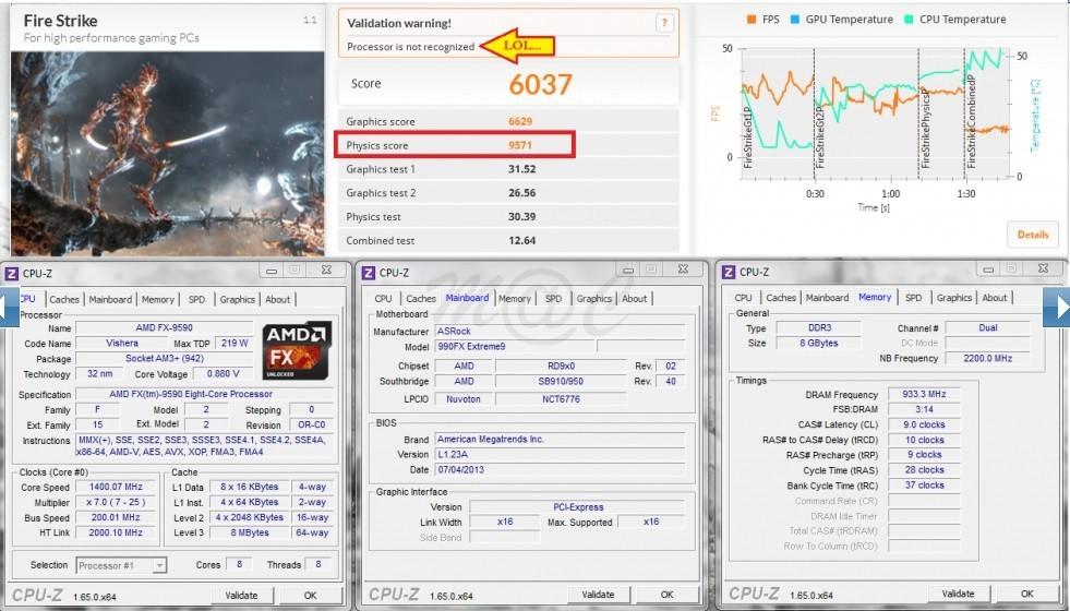 Foto de Rendimiento AMD FX-9590 a 5GHz (11/11)