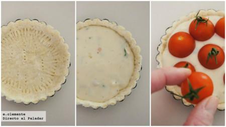 Miniquiches Tomates Coll