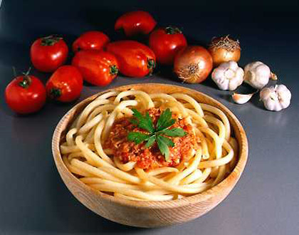 Salsas para servir la pasta con Thermomix I. Salsa boloñesa