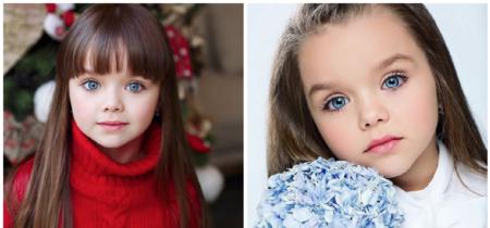 """Se llama Anastasia, tiene seis años y es considerada como """"la niña más guapa del mundo"""""""