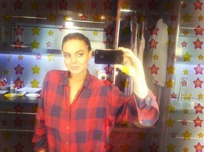 A Lindsay Lohan le va a crecer la nariz como a Pinocho...