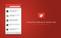 Leaf, lo nunca visto en interfaces minimalistas para leer noticias en RSS