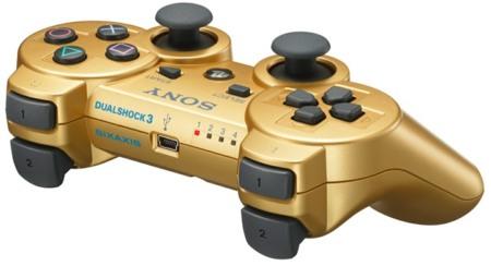 El horror hecho mando: DualShock 3 Metallic Gold