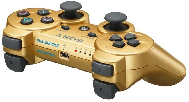 DualShock 3 Metallic Gold