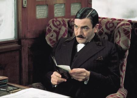 Albert Finney en Asesinato en el Orient Express