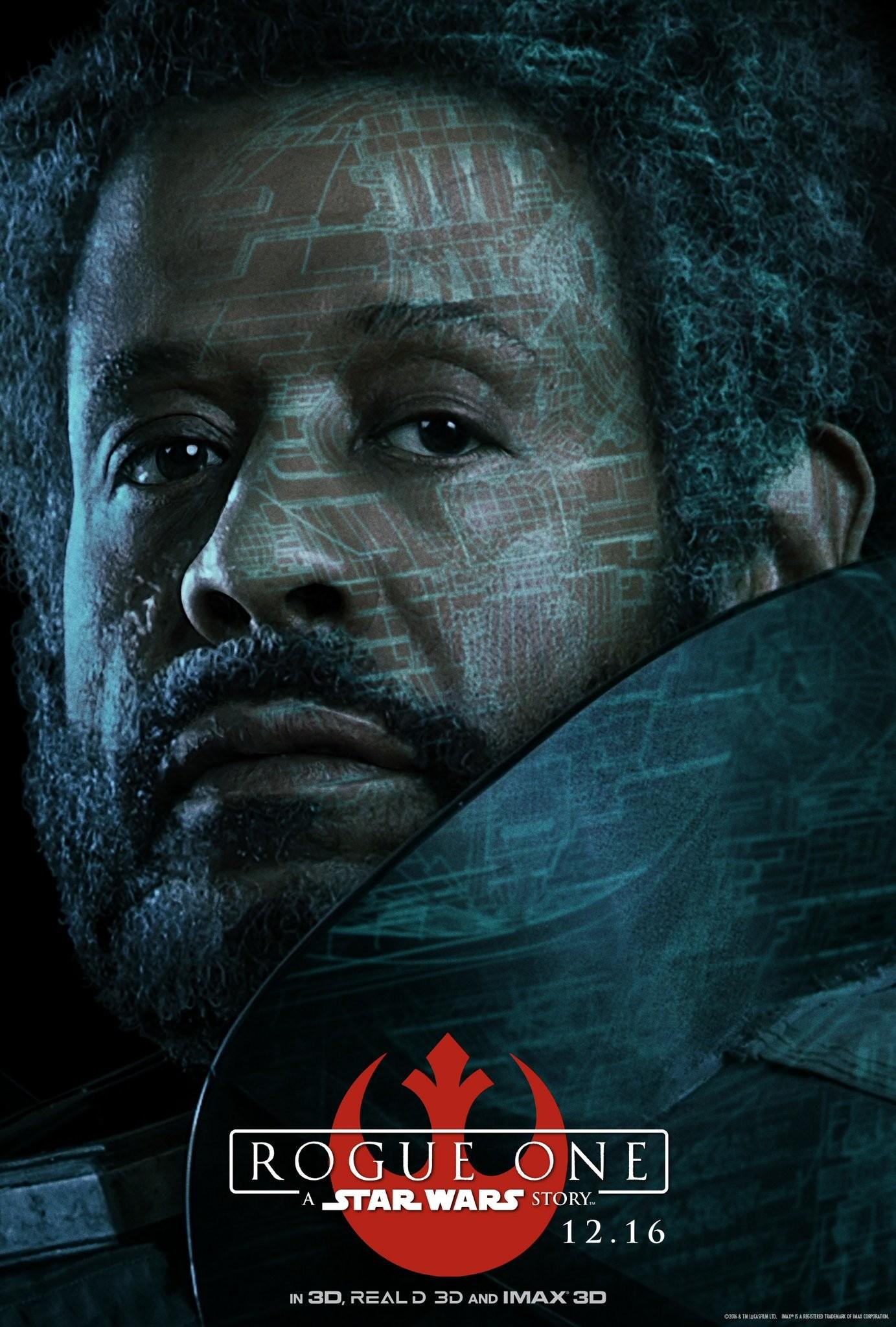 Foto de 'Rogue One: Una historia de Star Wars', carteles con los protagonistas (4/8)