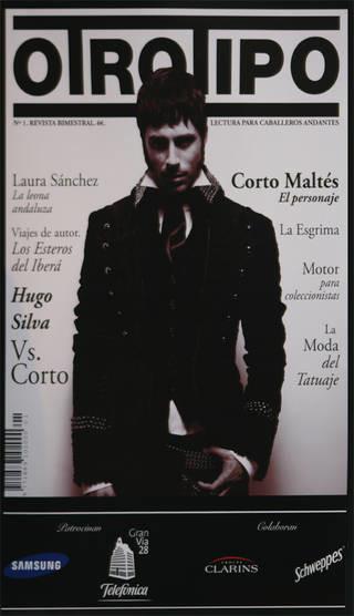 Hugo Silva presenta la nueva revista Otro Tipo