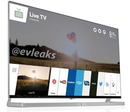 Esta es la primera imagen del televisor de LG con WebOS