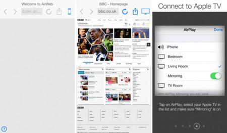 AirWeb, ¿no podría Apple lanzar un SDK para tener apps similares en el Apple TV?