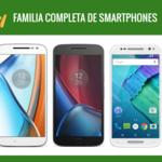 Así queda el catálogo completo de smartphones Motorola tras la llegada de los nuevos de Moto Z