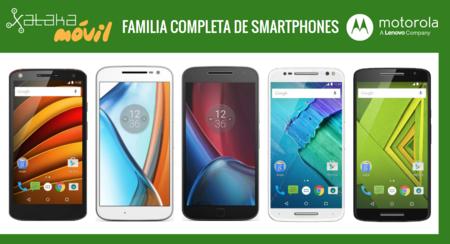 Así queda el catálogo completo de smartphones Motorola tras la presentación de Moto G4, G4 Plus y G4 Play