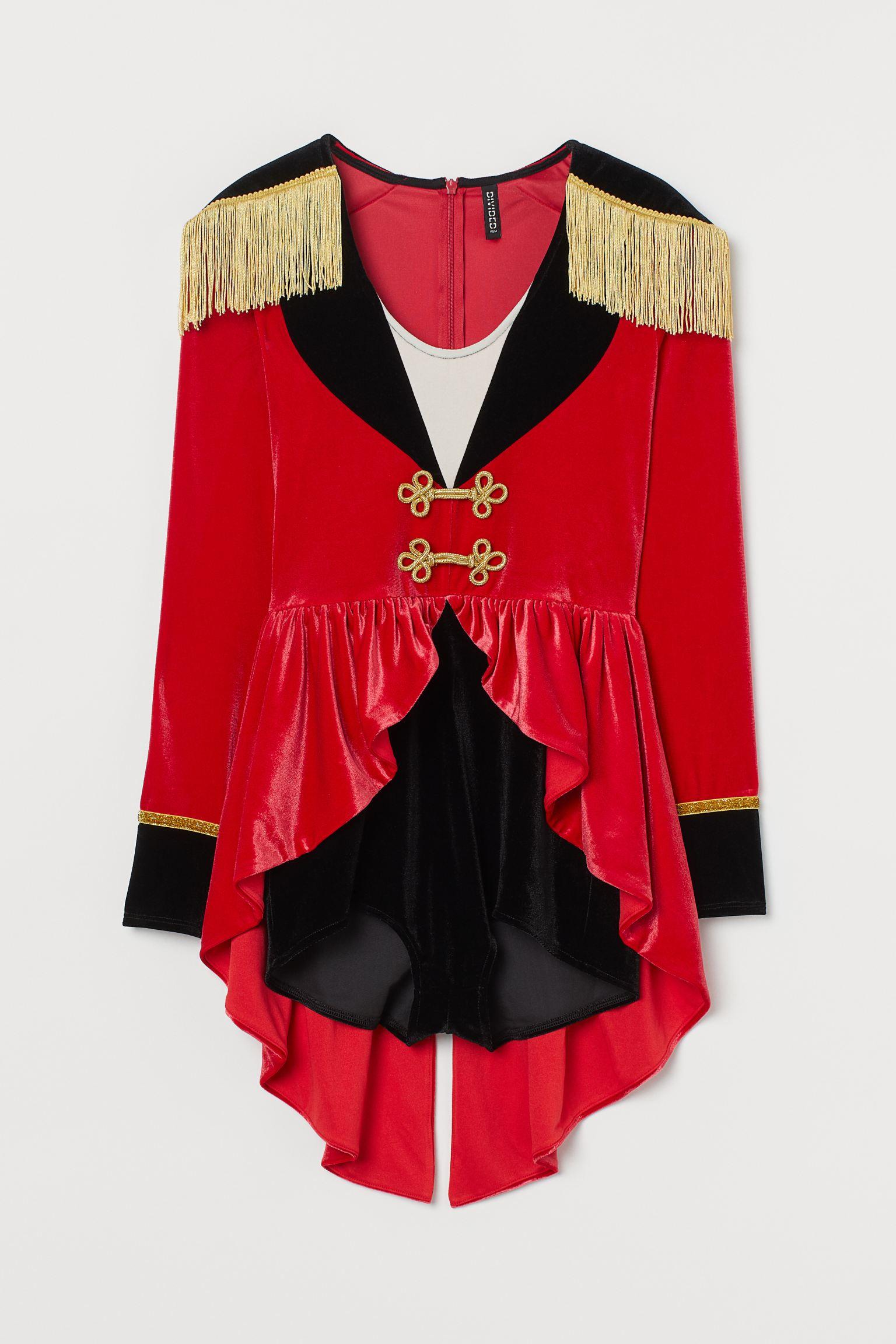 Disfraz circense en velour