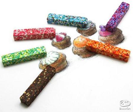 Crayolas multicolores