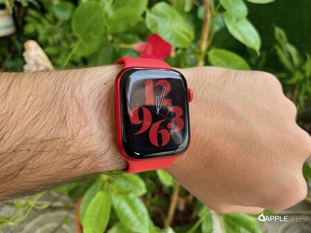 Apple Watch Series seis Rojo 012