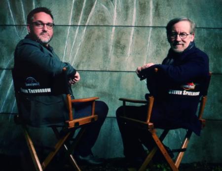 Colin Trevorrow y Steven Spielberg