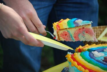 El asombroso caso de la tarta que cambiaba de color