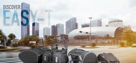 La gama Givi Easy-T te trae 13 soluciones, por si eres un viajero empedernido