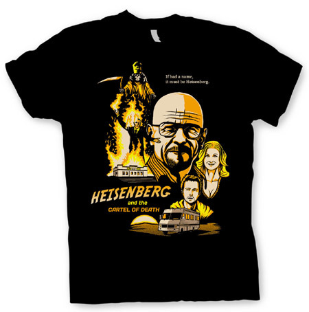 breaking bad camiseta
