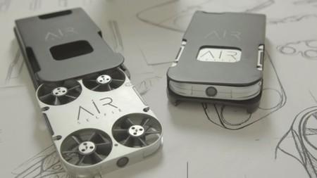 AirSelfie es otra 'hover camera' que cabe en la funda de tu smartphone