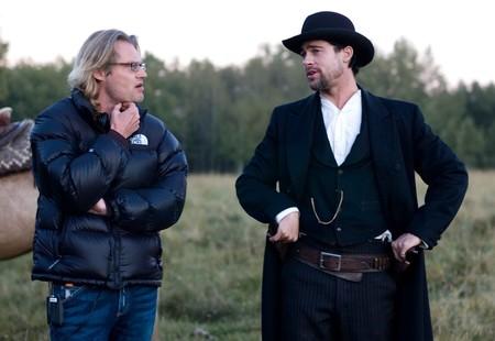Andrew Dominik con Brad Pitt en el papel de Jesse James