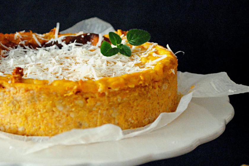 receta de pastel de calabacitas con queso