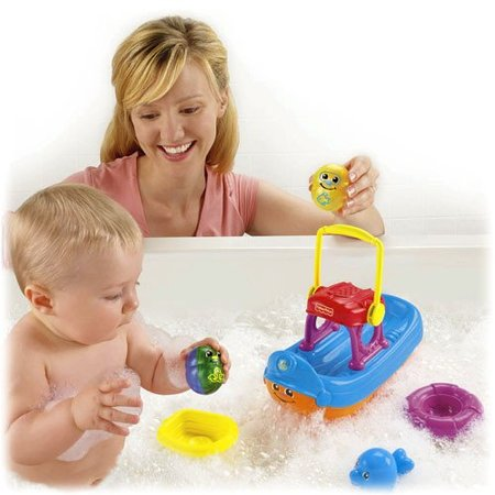 Barco diverbolitas de Fisher-Price