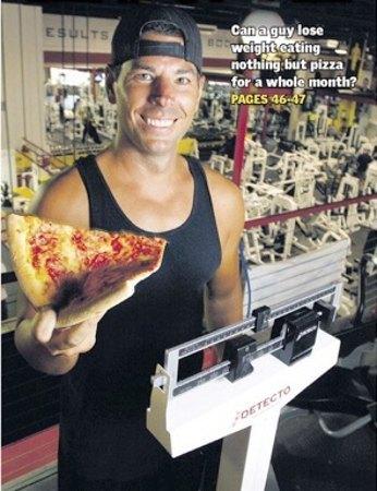 30 días de dieta a base de pizza