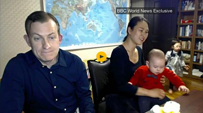 El día después del meme: la familia entrevistada por la BBC explica cómo se gestó el hilarante caos