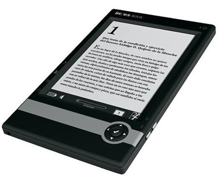 Inves-Book 600, el libro electrónico del Corte Inglés
