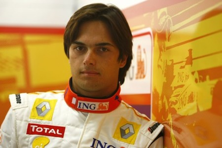 Nelsinho Piquet en conversaciones con Force India