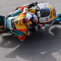Philipp Oettl ha sido el más rápido de Moto3 en Brno pese a los intentos de Kazuki Masaki en la FP2
