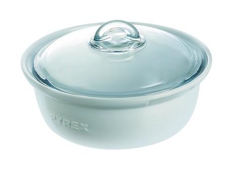 Cacerola con tapa apta para horno Pyrex Impressions rebajada a 16,50 euros en Amazon