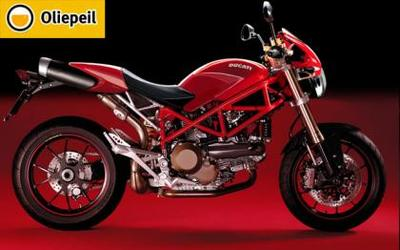Otra más: Ducati Monster by Oliepeil