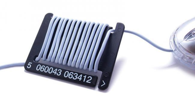 Una manera creativa de organizar tus cables con Barcode Cable Tidies