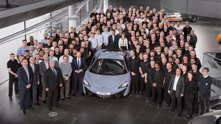 McLaren ya ha producido 10.000 coches, en tan solo cinco años