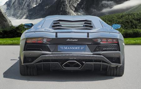 Mansory mete mano el Lamborghini Aventador S
