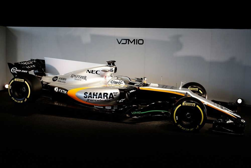 Foto de Sahara Force India VJM10 (1/4)