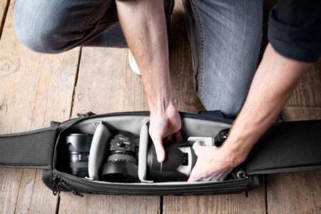 Urban Quiver, mochila para fotógrafos urbanos