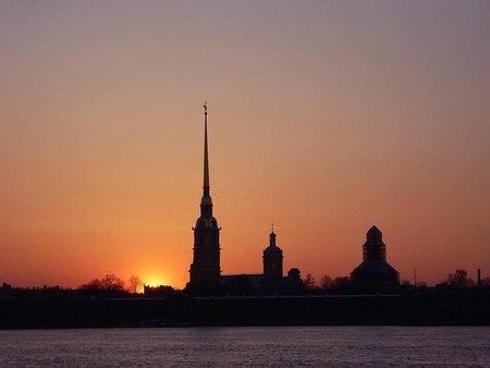 La Fortaleza de Pedro y Pablo, en San Petersburgo