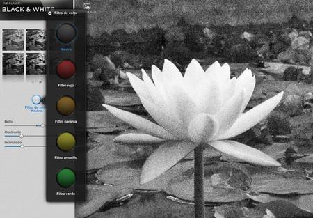 Snapseed blanco y negro