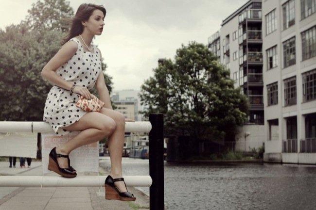 Lunares moda: los trucos de las streetstylers