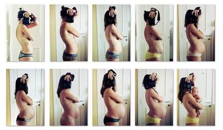 Cómo crece la barriga durante el embarazo