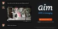 AIM se rediseña y moderniza para reconquistar la mensajería instantánea usando la nube