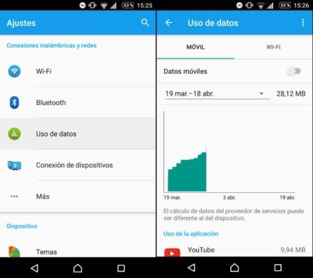 Android Nougat mejorará la característica de ahorro de datos