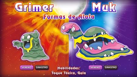 Pokemon Sol Luna Grimer